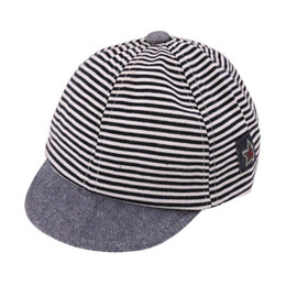 78e38ed6b72 Hats   Caps Baby Baseball Caps Unisex Baby Kids Stripe Hat for Children  Boys Girls Pentagon Fashion Snapback Cap Child Summer Sun Hat