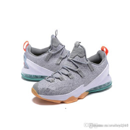 f331d2e46f729 Cheap Lebron 13 XIII low mens basketball shoes for sale Christmas BHM  Easter Halloween Akronite DB boots with original box Size 7 12