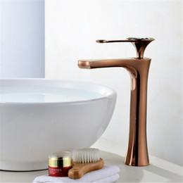 $enCountryForm.capitalKeyWord Australia - Basin Faucets 4 colors Faucet Single Hole Single Handle Basin Faucet Crystal Handle Silver Mixer Tap White Painted rose gold