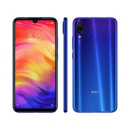 phone 5mp 2019 - Wholesale Global Version Xiaomi Redmi Note 7 4GB 64GB Mobile Phone Snapdragon 660 Octa Core 4000mAh 48MP 5MP Dual Camera