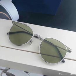 Coating Mirror Australia - MOOR Men Women Sunglasses Fashion Oval Sunglasses UV Protection Lens Coating Mirror Lens Frameless Color Plated Frame Come With Box