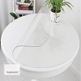 $enCountryForm.capitalKeyWord Australia - 1.5mm Thick Round Tablecloth Sizes Home Dining Room Tablecloth Transparent Disposable Pvc Table Runner Waterproof Table Cover T8190620