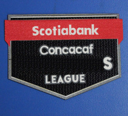 soccer badges patches Canada - 2020 Scotiabank Concacaf Patch top quality Scotiabank Concacaf 2020 Soccer badge Scotiabank Concacaf patch fast shipping