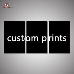 $enCountryForm.capitalKeyWord NZ - ome Decor Painting Calligraphy Custom Print 3 Piece Canvas Art Customized Your Own Photos Pictures Wedding Decorations Wall Art Canvas Pr...