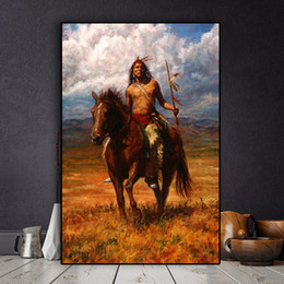 $enCountryForm.capitalKeyWord Australia - Abstract American Figure Landscape Oil Painting on Canvas Posters and Prints Cuadros Art Wall Picture No Framed