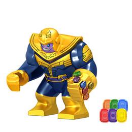 $enCountryForm.capitalKeyWord NZ - Energy Stones Gloves Building Blocks Avengers 4 2019 New Super hero Iron Man Blocks action figure Kids Toys Gift C6800