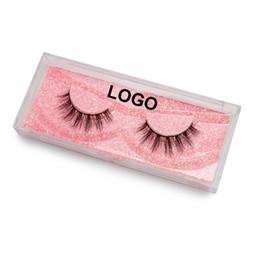 Silk Lash Extensions UK - Big Eye's Secret 10pairs 3D Silk Strip Eyelashes Russian Volume Lash Private Logo Silk Eyelash Eyelash Extension Free Shipping