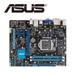 Discount desktop asus motherboard ddr3 - Asus P8B75-M LX Desktop Motherboard B75 Socket LGA 1155 i3 i5 i7 DDR3 16G uATX UEFI BIOS Original Used Mainboard On Sale