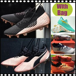 Free Soccer Shoes Australia - 2019 Free Shipping Men Low Ankle Football Boots Future 2.1 Netfit FG Soccer Shoes Future 18.1 NetFit hyFG Outdoor Soccer Cleats