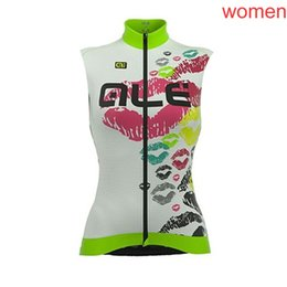 $enCountryForm.capitalKeyWord Australia - Women Summer ALE Team Cycling Jersey breathable quick dry Bike Sleeveless shirt road bicycle vest racing clothing outdoor sportswear Y081602