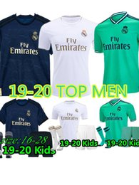 $enCountryForm.capitalKeyWord NZ - 19 -20 Real Madrid Soccer Jersey HAZARD home away adult soccer shirt ASENSIO ISCO MARCELO madrid 2019 2020 kids kit Football uniforms