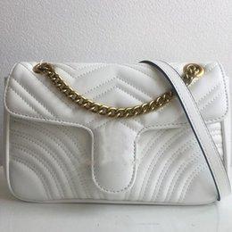 2019 mode Frauen Umhängetaschen Klassische Pu luxus tasche Leder Marmont Herz Stil 26 cm Goldkette Frauen Tasche Handtaschen KUPPLUNGEN ABEND im Angebot