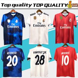 68c2a2359107c Real Madrid jerseys 2018 2019 fútbol RONALDO ASENSIO MODRIC camiseta de  fútbol jersey fútbol BALE RAMOS BENZEMA Camiseta 18 19 real madrid maillot