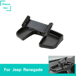 $enCountryForm.capitalKeyWord Australia - ABS Car Exclusive Use Mobile Phone Ipad Stand For Jeep Renegade 2016-2017 ABS Auto Exterior Accessories New Arrival High Quality