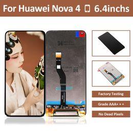 $enCountryForm.capitalKeyWord Australia - 10pcs LCD Screen For Huawei Nova 4 LCD Display Touch Screen Digitizer Assembly For Huawei Honor View 20 V20 Nova 4