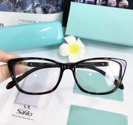 Nuevo marco de las lentes gafas de marco TF2104 tablón marco de la restauración de maneras antiguas Gafas de Grau hombres y mujeres ojo miopía marcos de los vidrios en venta