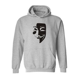 $enCountryForm.capitalKeyWord UK - Casual Hoodies Hooded cotton material Sweatshirts Autumn V for Vendetta Printing lover's Leniency Pullover Keep warm personality Sweatshirts