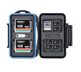 sd memory cards for cameras UK - Memory Card Storage SD MSD CF Cards Case Water-Resistant Box for Canon Nikon Sony Fujifilm Olympus Leica Camera