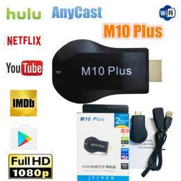 $enCountryForm.capitalKeyWord Australia - HD TV Stick M10 Plus WiFi Display Receiver HDMI 1080P TV DLNA Wecast Support Youtube Netfilx Newest Miracast VS M9 Plus