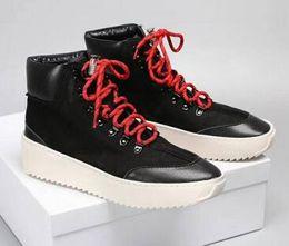 $enCountryForm.capitalKeyWord Australia - Mens Fear God 1 Light Bone Black Designer Sneakers Fashion Fog Cushion Boots Sports Zoom Casual Shoes 38-46