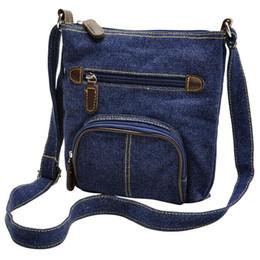 $enCountryForm.capitalKeyWord Australia - Casual Denim Cloth Women's Crossbody Bag 2019 Mini Messenger Shoulder Bag For Girls Ladies Small Flap Female Tote