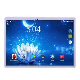 Phablet Gps Quad Australia - Unlock 4G FDD LTE Tablet PC 10 inch Octa Core Android 7.0 Dual Camera SIM FM GPS Bluetooth Phablet 4GB 32GB Phone tablet 10.1