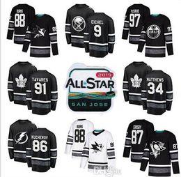 Chinese  2019 Men's All Star Game Ice Hockey Jersey Crosby Ovechkin Subban Matthews Kreider Giroux Simmonds Karlsson Burns Pietrangelo Fleury Laine manufacturers