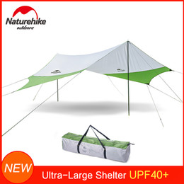 $enCountryForm.capitalKeyWord Australia - Naturehike Outdoor Ultral-Large Sun Shade w  2 Support Poles Rods Waterproof UV Block Sunshade for Patio Garden Beach Camping