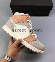 cheap hockey shoes NZ - New Cheap 1 Mid Milan 2020 Mens Basketball Shoes Women Sneakers Designer Trainers Baskets 1s des chaussures Zapatos Size 36-45