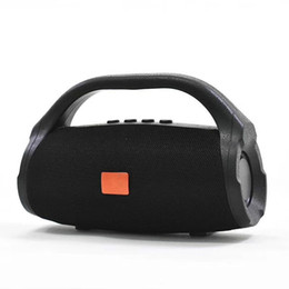 Balls Wireless Australia - Portable speaker wireless bluetooth sound bar TF card FM Stereo Hi-Fi mini sound ball speaker tmall Outdoor Column Box boombox