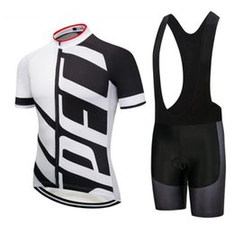 Mtb Clothing Sale Australia - Hot Sale Men \\'S Short Sleeves Cycling Jersey Bib Short Set Summer Mtb Bicycle Clothing 9d Gel Pad Bib Shorts Bike Clothes Cycle Sportswear