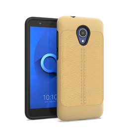 2 in 1 Hybrid Rüstung Fall für Alcatel Revvl 2 LG V40 X Power 3 Samsung Galaxy J2 Core Ledertelefon Fall oppbag