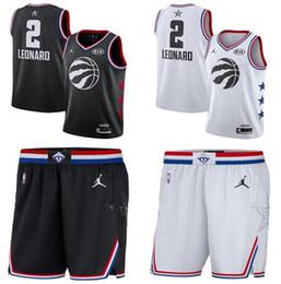 $enCountryForm.capitalKeyWord Australia - 2019 new style fans Toronto Men Raptors #2 Leonard Embroidery Basketball Vests black White Edition shorts Jerseys