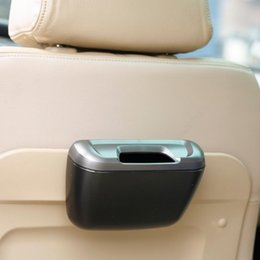 garbage for car UK - Universal car trash can side door storage box For any cars auto door seat back trash garbage