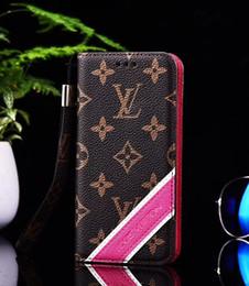 $enCountryForm.capitalKeyWord NZ - Luxury Designer phone case for iphone 6 7 8 plus X XS Max luxury brands PU leather case for iphone xr mobile phone wallet cover case