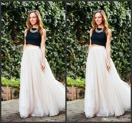$enCountryForm.capitalKeyWord Australia - 2019 New Long Length Layered Tulle Tutu Skirts For Adults Custom Made A-Line Cheap Party Prom Skirts Women Clothing Cheap Free Shipping
