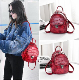 Small Ladies Backpacks Handbags Australia - woman fashion Alligator Pattern Designer Handbags Luxury quality Lady Shoulder Crossbody Bags Shell Shoulder backpack