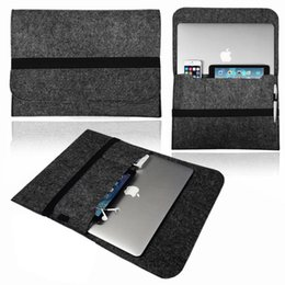 Macbook Retina 13 Inches Australia - Eagwell Soft Wool Felt Liner Sleeve Bag Pouch Case For Macbook Pro Retina 13 15 inch Laptop Durable Carry Bag Cover