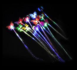 $enCountryForm.capitalKeyWord Australia - Luminous Light Up LED Hair Extension Flash Braid Party girl Hair Glow by fiber optic For Party Christmas Halloween Decoration