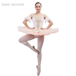 $enCountryForm.capitalKeyWord Australia - B17009 Spandex professional Ballet tutu for Girl & Woman Stage Performance Ballet tutu Ballerina costumes Pancake dancing dress