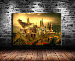 magic oils Canada - School of Magic , Canvas Painting Living Room Home Decor Modern Mural Art Oil Painting
