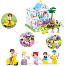 Housing Building Australia - 2019 New Home Garden DIY Doll House Dollhouse Small Room Box Miniature Mini Model Building Block Toy for Children Girl Boy Gift