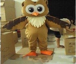 $enCountryForm.capitalKeyWord Australia - wholesale New Professional New Style Big Blue Owl Mascot Cartoon Costume Fancy Adult Size Free shipping