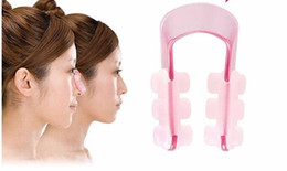 $enCountryForm.capitalKeyWord Australia - Nose Lifting Clip Silicon Gel Beauty Nose Shaper For Nose Massage With Pink Color free shipping