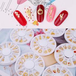 $enCountryForm.capitalKeyWord Australia - 1Box Nail Alloy Charm Heart-shape Round 3D Nail Charm Rhinestone Art Decoration For Diy Manicure Art Glitter Accessories&#