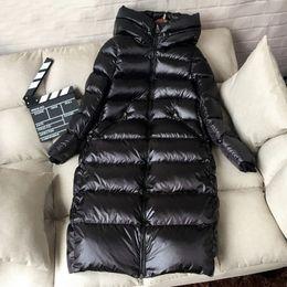 $enCountryForm.capitalKeyWord Australia - 2019 Winter Long Down Parka 90% White Duck Down Jacket Women Thick Warm Long Winter Coat Women Hooded Female Jacket