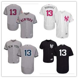 9b70da981 New York 2019 Men's Women's Youth Yankees 13 Alex Rodriguez Majestic Black  Alternate Authentic Flex Base Custom Baseball Jerseys