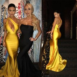 $enCountryForm.capitalKeyWord Australia - Sexy One Shoulder Mermaid Ruched Backless Evening Dresses Beautiful Cocktail Pageant Gowns Custom Made Evening Gowns D60