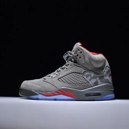 new style 8d567 7c8e9 Chaussures de basket-ball d extérieur de designer pas cher rétro 5s 11s 12s  13s baskets 5 11 12 13 blanc rouge noir gris bleu