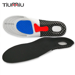Running shoes high aRches online shopping - 1 Pari Sport Running Insoles Men Women Breathable Shoes Sole Orthopedic Pad Massaging Absorption Arch Support High Quality
